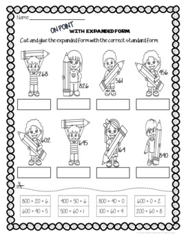 Back To School: Math Third Grade