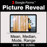 Back To School: Mean, Median, Mode, Range - Google Forms |