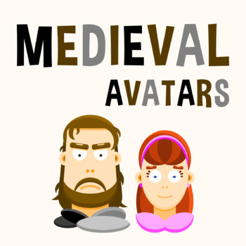 Back To School - Medieval Avatars Clipart