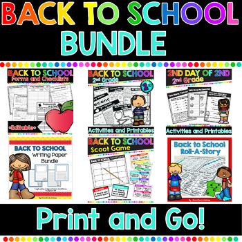Back To School Mega Bundle: 2nd Grade Edition