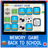 Back To School  Memory Back To School Memory Game Boom Cards