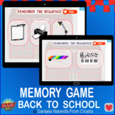 Back To School Memory Remember The Sequence School Bundle