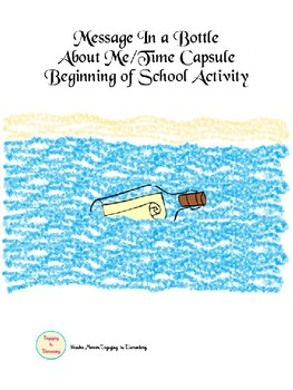 Back To School: Message In a Bottle