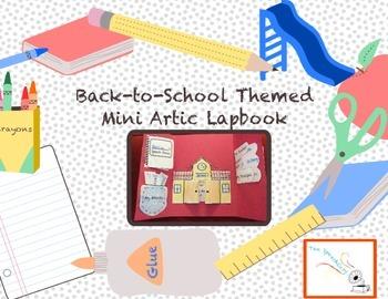 Back To School Mini Artic Lapbook