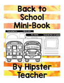 Back To School Mini-Book
