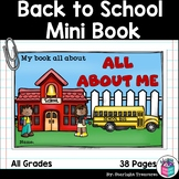 Back To School Mini Book - All About Me Mini Book