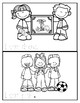 Back To School Mini Book:  Kinder:  FREE