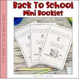 Back To School Mini Booklet