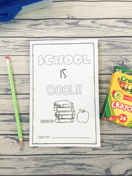 Back To School Mini Booklet - Digital Version Included