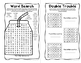 Back To School Mini Puzzle Book for Sixth Graders