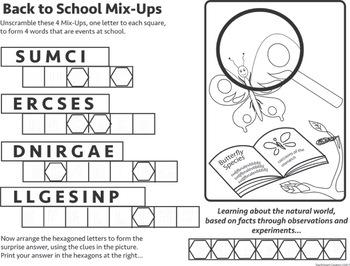 Back To School Mix-Ups