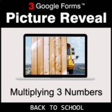 Back To School: Multiplying 3 Numbers - Google Forms Math