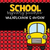 Back To School Mystery Pictures -- Multiplication & Division