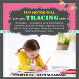 NO PREP - 68 pages Back To School Fine Motor Tracing Lines