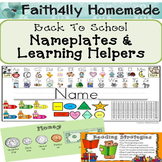 Nameplates and Reference Helpers