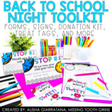 Back To School Night Forms and Signs | Meet The Teacher Night | Google Classroom