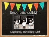 Back To School Night Presentation Sample