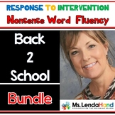 Back To School Nonsense Word Fluency R.T.I Bundle by Ms. L