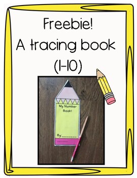 Back To School Number Book!