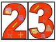 Back To School Numbers with Symbols Set-Red