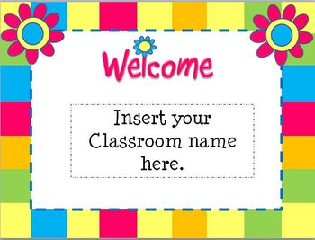 Open house flower themed powerpoint template by teaching 4 real tpt open house flower themed powerpoint template toneelgroepblik Image collections
