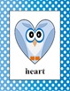 Clip Art - Posters - 19 Shape Owl Polka-dot (PDF, PNG & JPG) Commercial Use