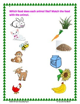 Back To School Pack : A Trip to Animal World (ELA / Science)