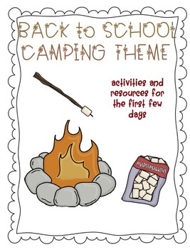 Back To School Pack Camping Theme
