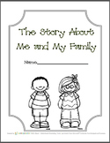 The Story of Me and My Family/All About Me - Holidays Traditions Heritage Family