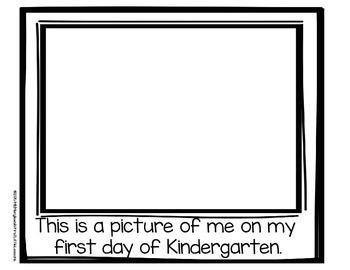 Back To School Packet: Kindergarten