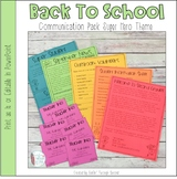 Back To School Parent Communication Templates Superhero Theme