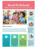 Back To School Parent Newsletter