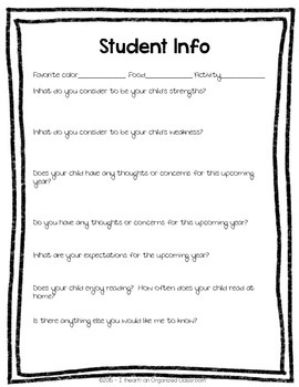 Back To School Parent Pack - Black & White