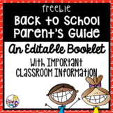 Back To School Parent's Guide