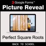 Back To School: Perfect Square Roots - Google Forms Math |