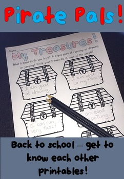 Back To School - Pirate Themed Printables