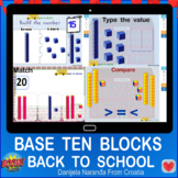 Back To School Place Value School Base Ten Blocks Within 2
