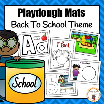 Back To School Playdough Mats