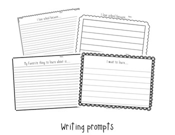 Back To School Poems and Writing Pack