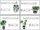 Back To School Postcard - Succulent Themed