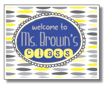 Back To School Postcards- Personalized for YOU!