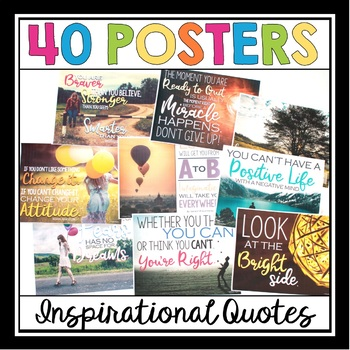BACK TO SCHOOL POSTERS: QUOTES