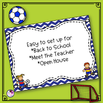 Back To School PowerPoint Soccer *editable*