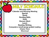 Back To School Primary Editable