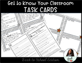 Back To School Procedure Task Cards
