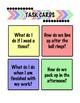 Back To School Procedure Task Cards