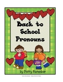 Back To School Pronouns
