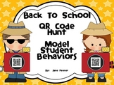 Back To School QR Code Hunt Model Student Behaviors