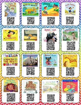 Back To School QR Codes