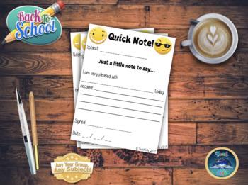 Quick Notes!